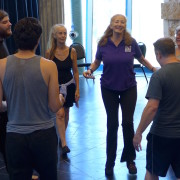 #michaelchekhov Lisa Dalton leads class
